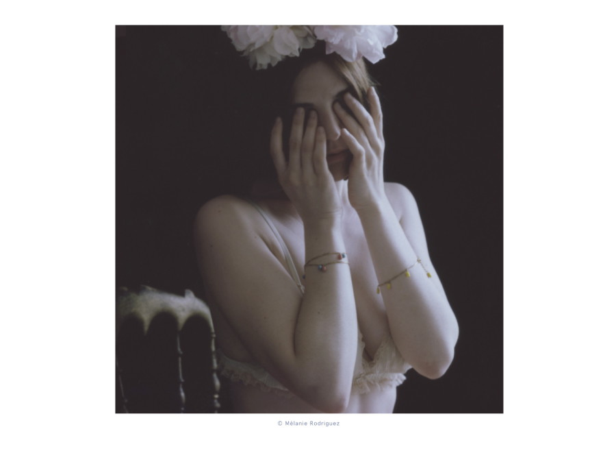 Mademoiselle Ninon Petites perles de couleurs